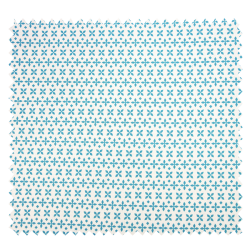 Tissu Cretonne Crok Aqua