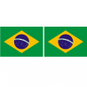 Tissu Drapeau Du Brésil
