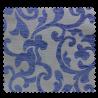 Tissu Jacquard Siena Arabesque - Bleu