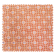 Tissu Olympe Jacquard Allover Olympe Orange