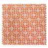 Tissu Olympe Jacquard Allover Orange