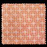 Tissu Olympe Jacquard Allover Orange