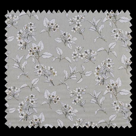 Tissu Fleur de Cerisier Imprimé Vellum