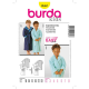 Patron Burda Kids 2662 Peignoir 98/128