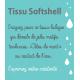 Tissu Soft Shell Magic Tête de Mort Pétrole