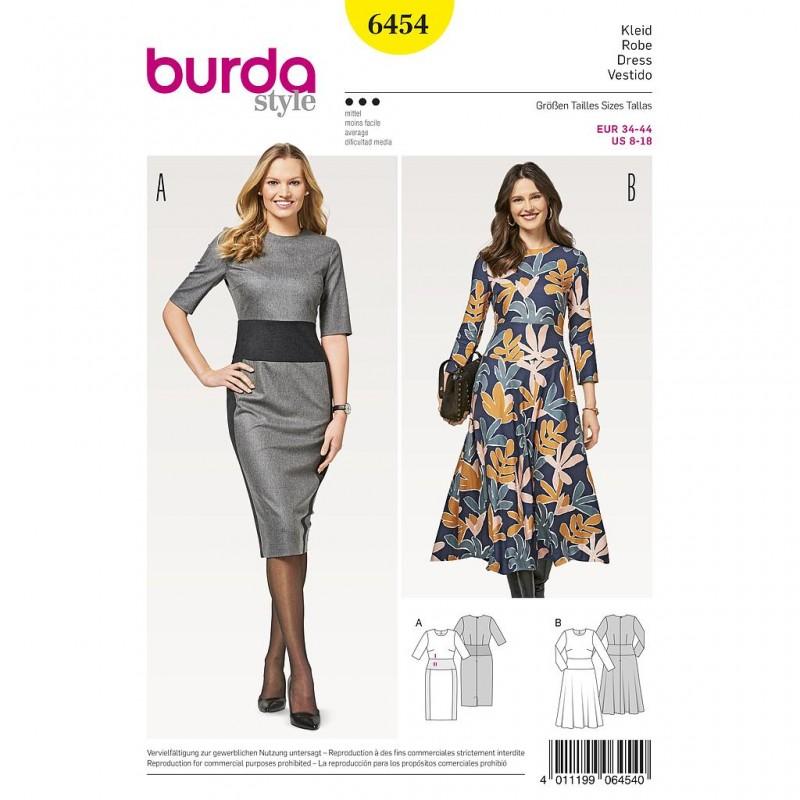 Patron Burda Style 6454 Robe