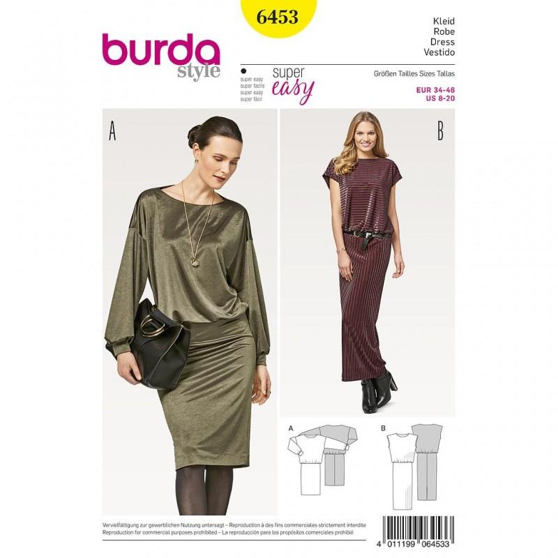 Patron Burda Style 6453 Robe