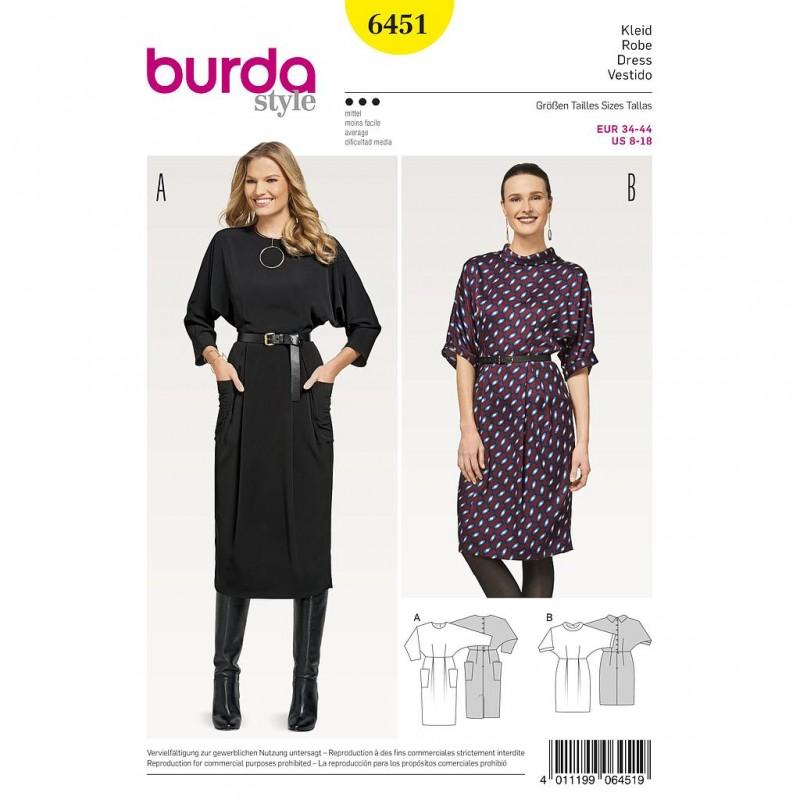 Patron Burda Style 6451 Robe