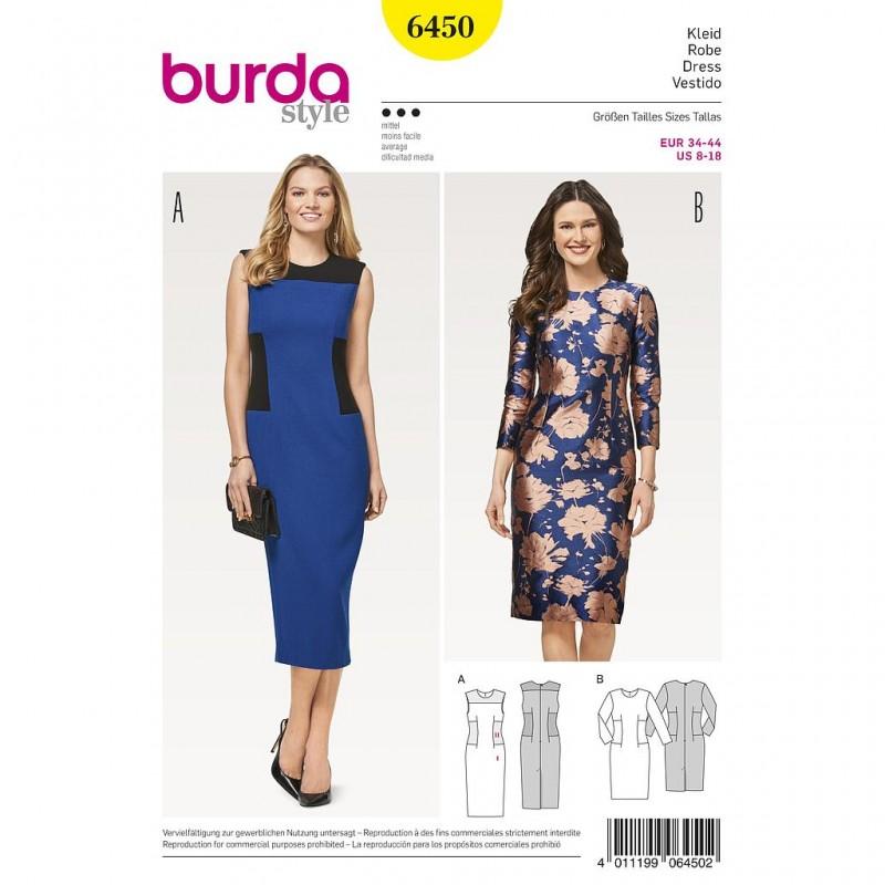Patron Burda Style 6450 Robe
