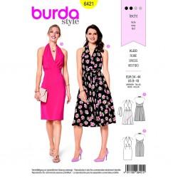 Patron Burda Style 6421 Robe Taille 34/44