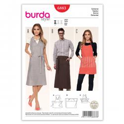 Patron Burda Style 6883 Tablier