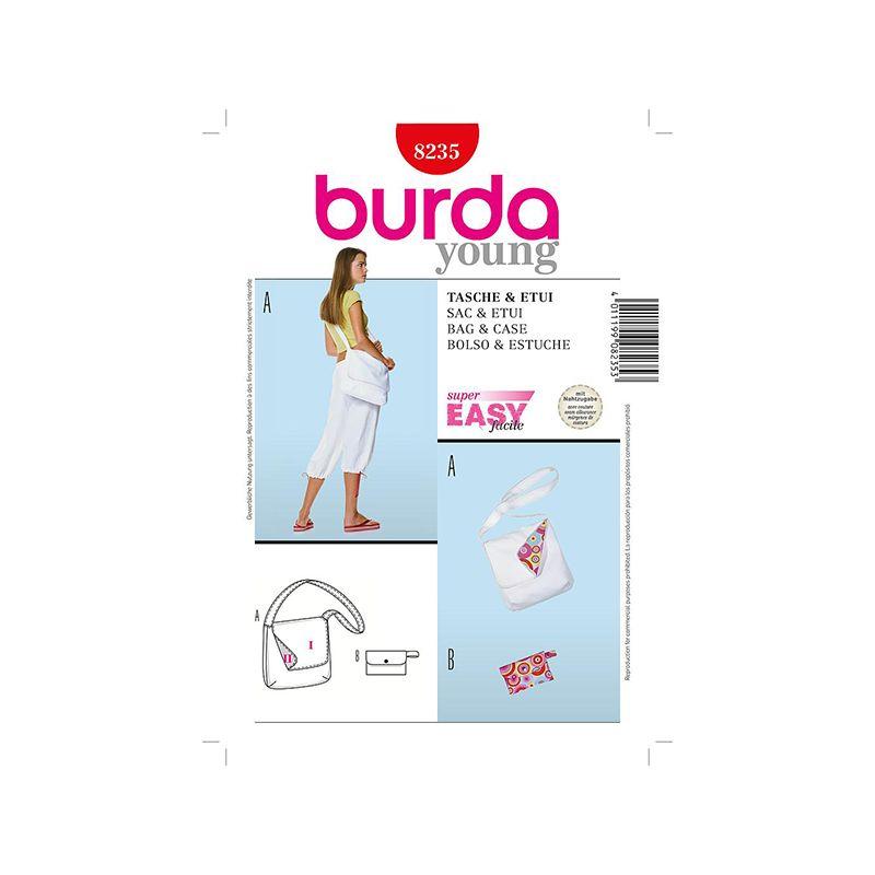 Patron Burda Créative 8235 Sac