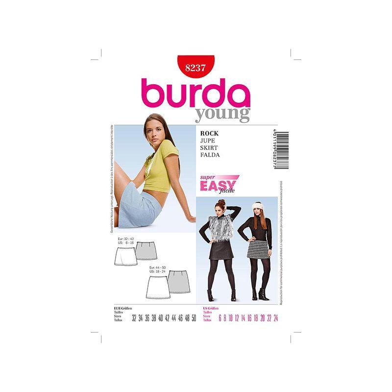 Patron Burda Style 8237 Jupe 32/50