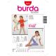 Patron Burda Kids 9615 Caleçons 98/158