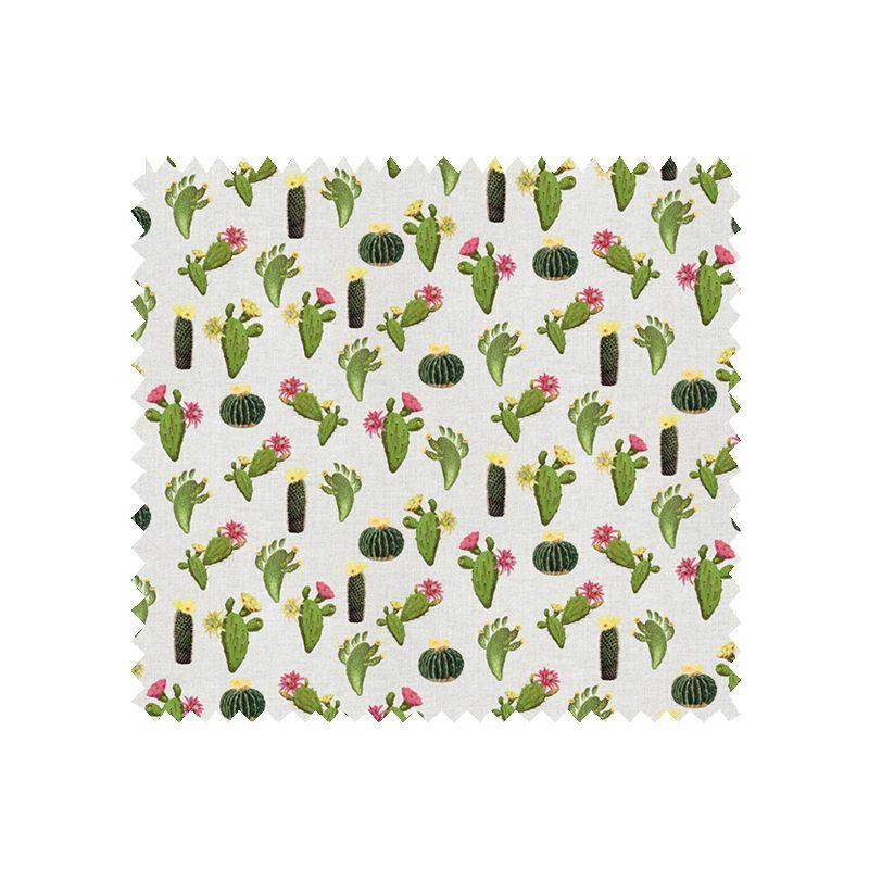 Tissu Toile Imprimée Cactus