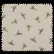 Tissu Toile Imprimée Colibri