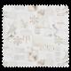 Tissu Toile Imprimée Hiver Fond Blanc