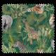 Tissu Toile Imprimée Safari Animaux