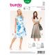 Patron Burda Style 6766 Jupe 36/46
