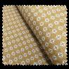 Tissu Maille losange jaune Imprimé