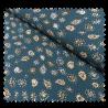 Tissu Crêpe Motifs Perses Imprimé