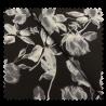 Tissu Chemisier Rose Noir