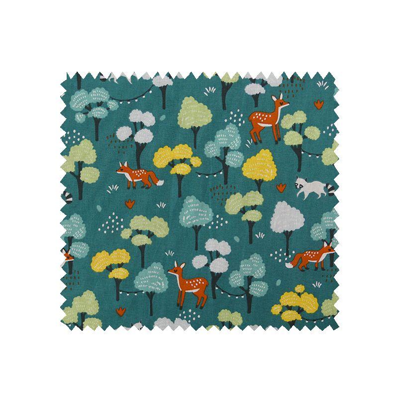 Tissu Maya Cretonne Canard