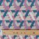 Tissu Géométrique Multico