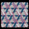 Tissu Toile Géométrique Multico