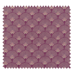 Tissu Eventail Rose