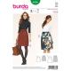 Patron Burda Style 6836 Jupe 36/46