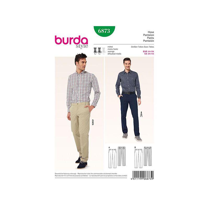Patron Burda Style 6873 Pantalon 44/54