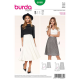Patron Burda Style 6880 Jupe 36/46