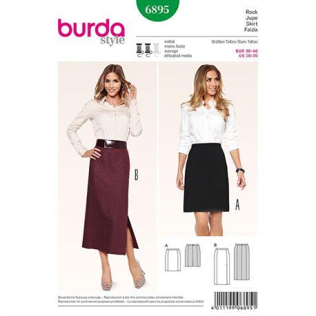 Patron Burda Style 6895 Jupe 36/46