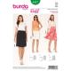 Patron Burda Style 6937 Jupe 32/54