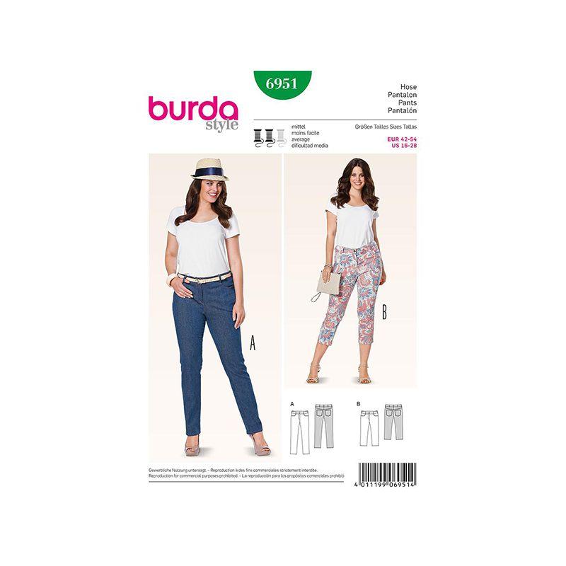 Patron Burda Style 6951 Pantalon 42/54