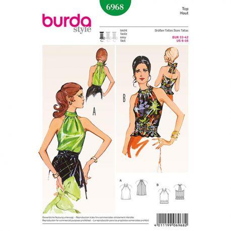 Patron Burda Style 6968 Haut 32/42