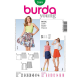 Patron Burda Style 7049 Jupe Femme 32/44