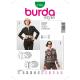 Patron Burda Style 7183 Veste 34/42