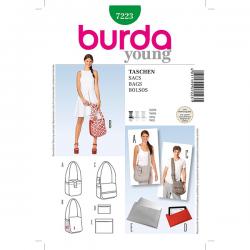 Patron Burda Style 7223 Sacs