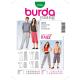 Patron Burda Style 7230 Young Pantalon 32/46 44/58
