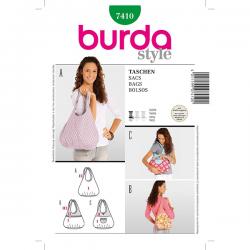 Patron Burda Style 7410 Sacs