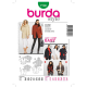Patron Burda Style 7700 Veste Pantalon 38/50