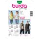 Patron Burda Style 7810 Gilet 32/44 44/54