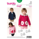 Patron Burda Kids 9425 Veste 86/122CM