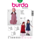 Patron Burda Kids 9447 Robe 92/122