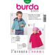 Patron Burda Kids 9456 Manteau et Veste 68/98