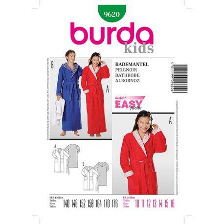 Patron Burda Style 9620 Peignoir 140/176