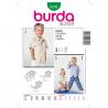 Patron Burda Kids 9792 Chemise 92/116