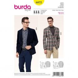 Patron Burda Style 6872 Veste 44/54